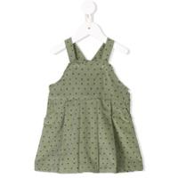 Knot Sea Spray pinafore dress - Green