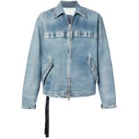 Unravel Project zipped denim jacket - Blue