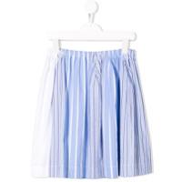 Marni Kids blue pinstripe skirt