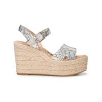 Sam Edelman maura wedge sandals - Grey