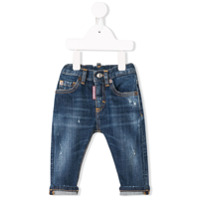 Dsquared2 Kids distressed detail jeans - Blue