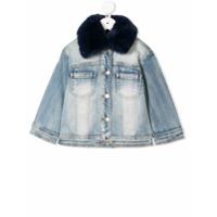 Monnalisa Dream denim jacket - Blue