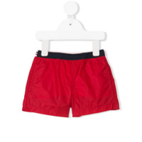 Moncler Kids swim shorts - Red
