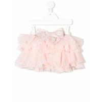 Lapin House tiered tutu skirt - Pink