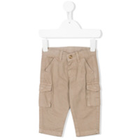 Knot twill cargo trousers - Neutrals