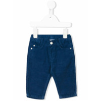 Knot corduroy trousers - Blue