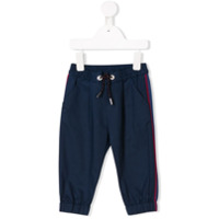 Baby Dior side stripe trousers - Blue