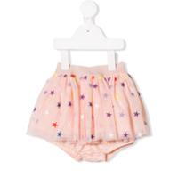 Stella Mccartney Kids star pattern tutu skirt - Pink