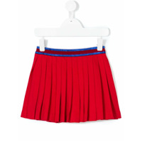 Gucci Kids pleated mini skirt - Red