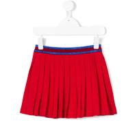 Gucci Kids pleated mini skirt - Red