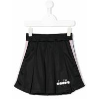 Diadora Junior side stripes flared skirt - Black