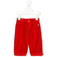 Il Gufo straight-leg corduroy trousers - Red