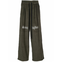 Komakino elasticated waist trousers - Green