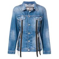 Diesel zipped denim jacket - Blue