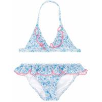 Sunuva floral print bikini - Blue