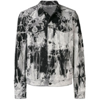 Diesel Black Gold bleached denim jacket - Grey