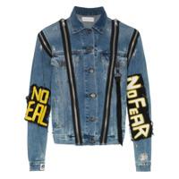 Faith Connexion Monster Denim Jacket - Blue