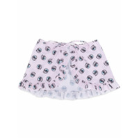 Chiara Ferragni Kids Eye print cover-up - Pink