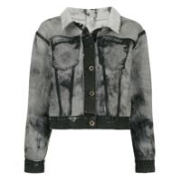 Unravel Project inside out denim jakcet - Black