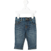 Burberry Kids stretch fit jeans - Blue