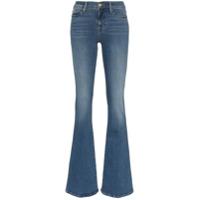 Frame Calça Jeans Flare Cintura Alta - Azul