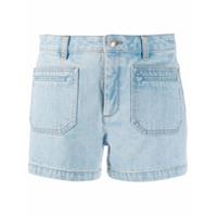 A.p.c. Short Jeans - Azul