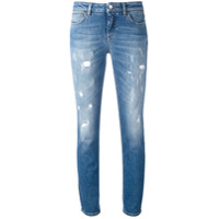 Dolce & Gabbana Calça Jeans Skinny Desgastada - Azul