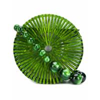 Cult Gaia Bolsa Tiracolo 'luna' - Green