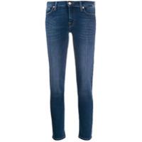 7 For All Mankind Calça Jeans Skinny Com Tachas - Azul