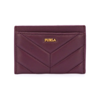 Furla Quilted Cardholder - Roxo