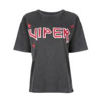 Anine Bing Camiseta Viper - Cinza