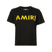 Amiri Camiseta Com Logo - Preto