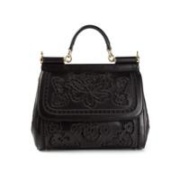 Dolce & Gabbana Bolsa Tote Modelo 'sicily' - Preto