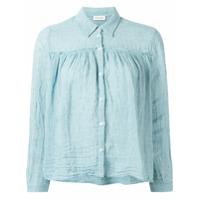Masscob Camisa Com Botões - Azul