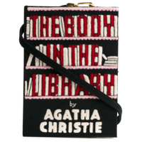 Olympia Le-Tan Clutch 'the Body In The Library' - Preto