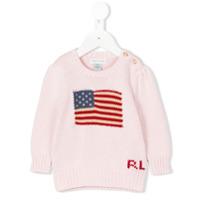 Ralph Lauren Kids Suéter De Tricot - Rosa