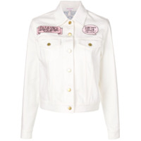 Olympia Le-Tan Jaqueta Jeans 'the One That Got Away' - Branco