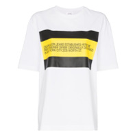 Calvin Klein Jeans Est. 1978 Logo Print Cotton T-Shirt - Branco