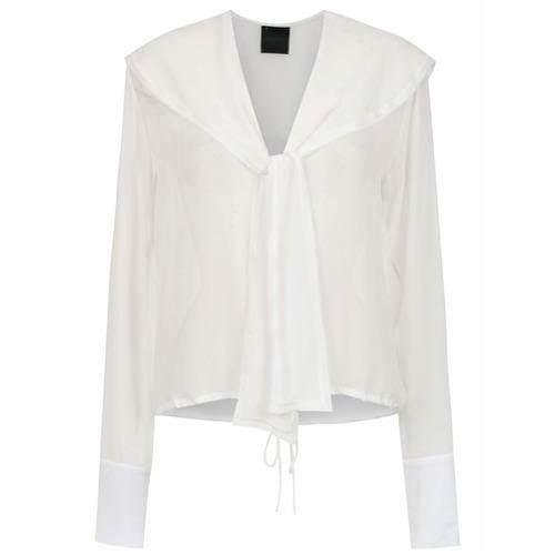 Imagem de Andrea Bogosian Blusa seda com amarração - Branco