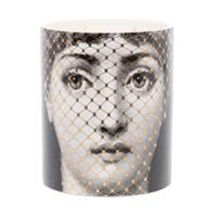 Fornasetti Otto Golden Burlesque Candle - Branco