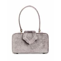 Mehry Mu Velvet Box Bag - Cinza