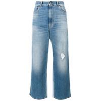 Golden Goose Deluxe Brand Calça Jeans Cropped - Azul