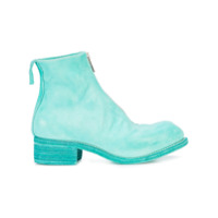Guidi Zip Up Ankle Boots - Azul