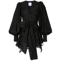 Acler Vestido Vicount - Preto