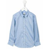 Paul Smith Junior Camisa Estampada - Azul