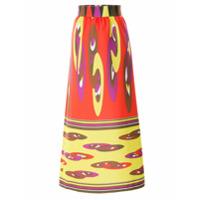 Allmost Vintage Saia Midi 'colors' - Vermelho