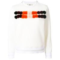 Fendi Suéter Com Recorte - Branco