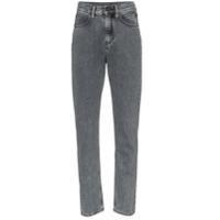 Calvin Klein Jeans Est. 1978 Calça Jeans Slim Com Patch Atrás - Preto