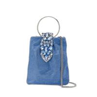 Gedebe Crystal Embellished Tote - Azul