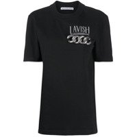 Alexander Wang Camiseta De Algodão Lavish - Preto